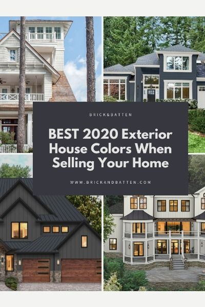 Best 2020 Exterior House Colors When Selling Blog Brick Batten Outside House Paint Exterior House Paint Color Combinations House Paint Exterior
