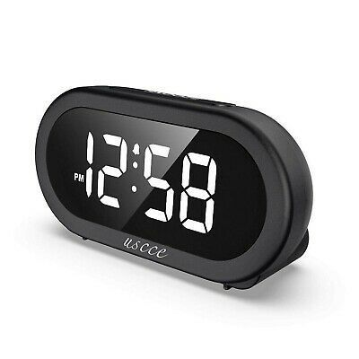 Ebay Link Uscce Small Led Digital Alarm Clock With Snooze Easy To