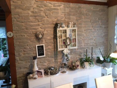 Gestaltung Wand mit Stein Lajas Wandgestaltung Wohnzimmer - wohnzimmer design wand stein