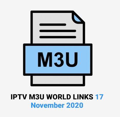 Iptv M3u World Links 17 November 2020 Sky Cinema World Live Tv