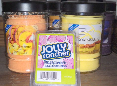 Our #aromabeads can be found at @Walmart and Jolly Rancher melts at Kmart and Meijer
