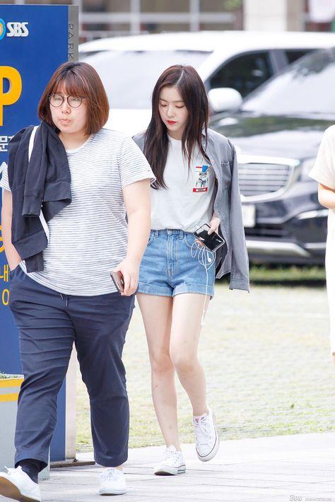 170823 레드벨벳 SBS라디오 출근 직찍 (아이린, 슬기) (With images)   Red