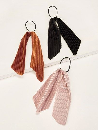 Hair Tie 3pack [hairha190402604] - $10.00 : cuteshopp.com