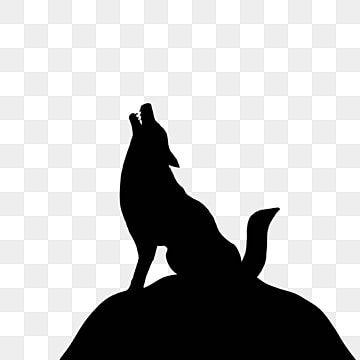 Silhouette De Loup Hurlant Le Loup Des Objets Graphiques Loup Silhouette Fichier Png Et Psd Pour Le Telechargement Libre In 2021 Wolf Silhouette Wolf Clipart Wolf Howling