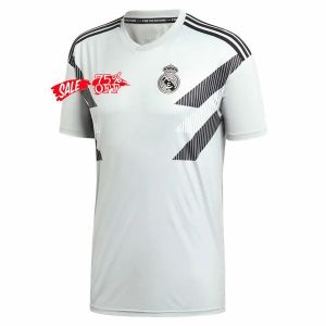 more photos cca67 20bf4 Real Madrid 2018-19 Top White Pre-Match Training Shirt [M730 ...