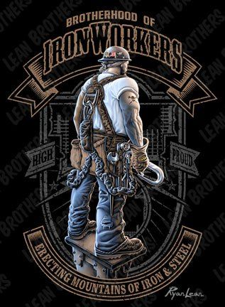 Ironworker tee | Iron Worker   local#580,NYC,NY | Welding