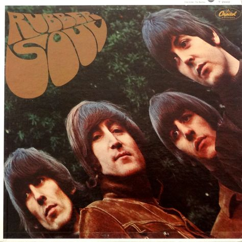 The Beatles Rubber Soul Giclee Canvas Album Picture Art