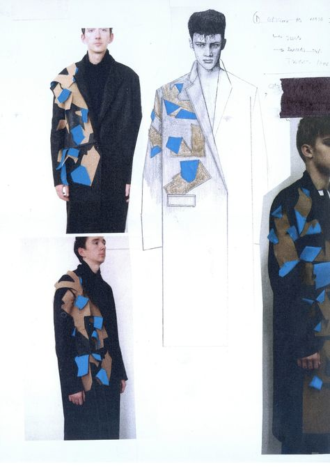 Recent graduate from University of Westminster BA(Hons) Fashion Design. Working across both Menswear and Womenswear with industry experience in both.