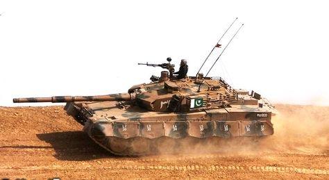 Al-Khalid Main Battle Tank is named after the 7th-century Great Muslim General and Strategist Khalid Bin Waleed Razi Allahu Ta'ala Anhu.