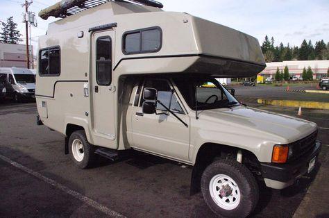 Yota 4x4 Toyota Camper Recreational Vehicles Truck Camper Shells