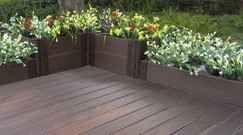 Comment Poser Une Terrasse Composite Sur Lambourdes Et Plots En 2020 Amenagement Jardin Terrasse Composite Terrasse Bois Composite
