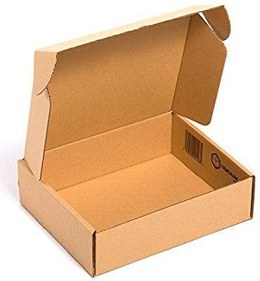 X25 Caja De Carton Automontable Envios Postales 39x30x11 Cms