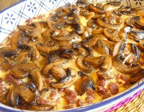 Hamburger Mushroom Bake Healthy Recipes List Of Dishes And Heart Healthy Recipes Stuffed Mushrooms Recipes Food