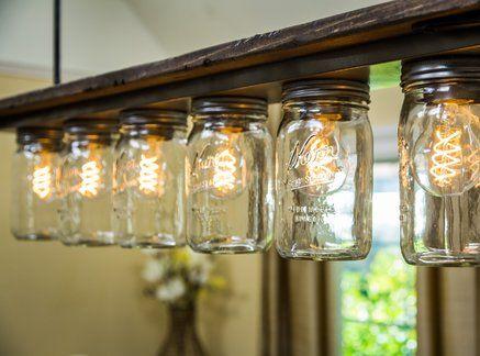 Diy Light Fixture Chandelier Ken Wingard Is Getting Inspired By Hallmark Channel S Original Movie Diy Light Fixtures Diy Light House Mason Jar Light Fixture