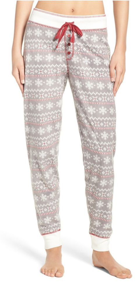 Polar fleece lounge pants