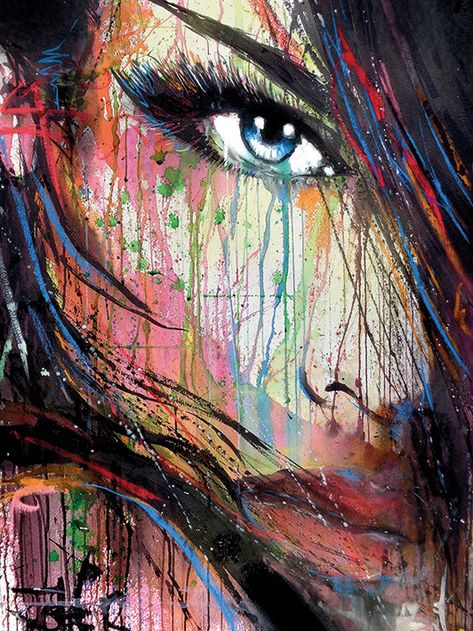 Loui Jover (Dark Nature) portrait, perfect for urban contemporary living. Head to artgroup.com to view all canvas and art prints in Loui's open edition wall art collection brought to you by The Art Group