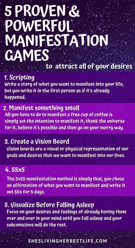 If you want to manifest more into your life with the Law of Attraction you have to make it simple and actionable. Learn the top 5 proven and powerful manifestation games to attract all of your desires easily and quickly.