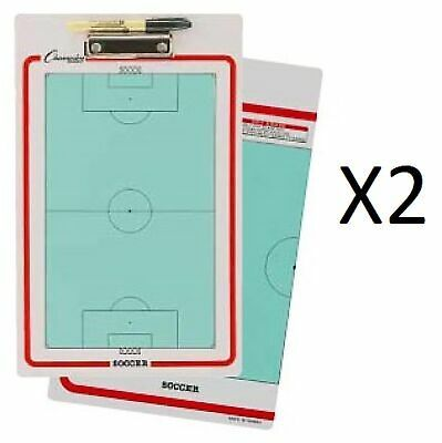 Advertisement Ebay Champion Dry Erase 2 Sided Soccer Coach Coaching Board With Marker Cbsb 2 Pack Soccer Coaching Soccer Soccer Clipboard