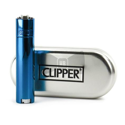 CLIPPER LARGE METAL GASOLINE 1 ACCENDINO