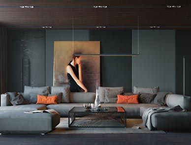 Interior Design Industry Living Room Interior Living Room Modern Living Room Grey