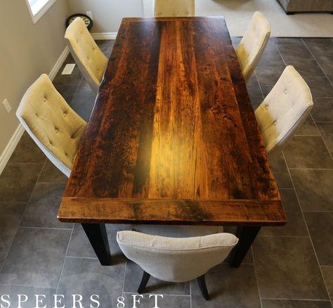Harvest Table | Reclaimed Wood Harvest Tables | Pinterest | Harvest Tables,  Tables And Showroom