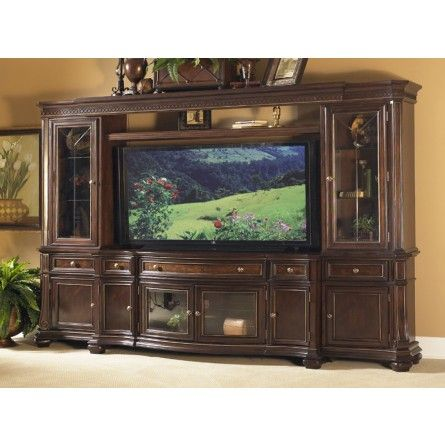 A Gorgeous Entertainment Unit That Will Transform Your TV Watching  Experience! | Gallery Furniture | Houston, TX | | Home Theater / Game Room  | Pinterest ...
