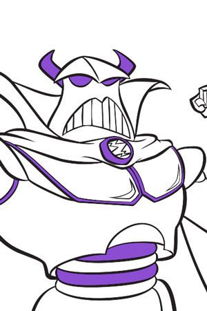 Emperor Zurg Colouring Page Disney Uk Kid Character Coloring Pages