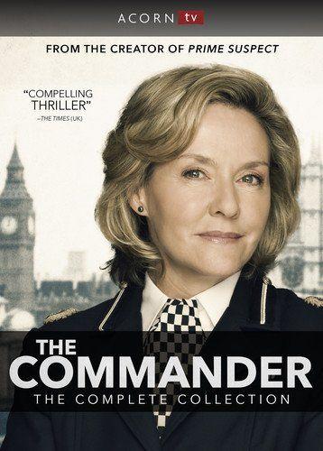 The Commander Complete Series Dvd Cdr Amanda Burton