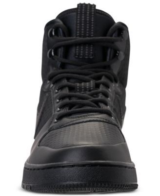 Nike Men s Court Borough Mid Winter Outdoor Casual Sneakers from Finish  Line - Black 10.5 d408c8405