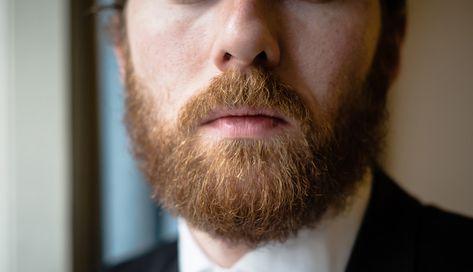 la densidad de la barba