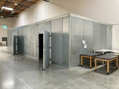 Ad Ebay Url Walk In Cooler Los Angeles 40 X 20 X 10 2 Doors In 2020 Cool Doors Walk In Freezer Glass Door