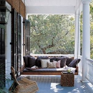 Unique Ideas Extra Large Porch Swing Martha Stewart Summer