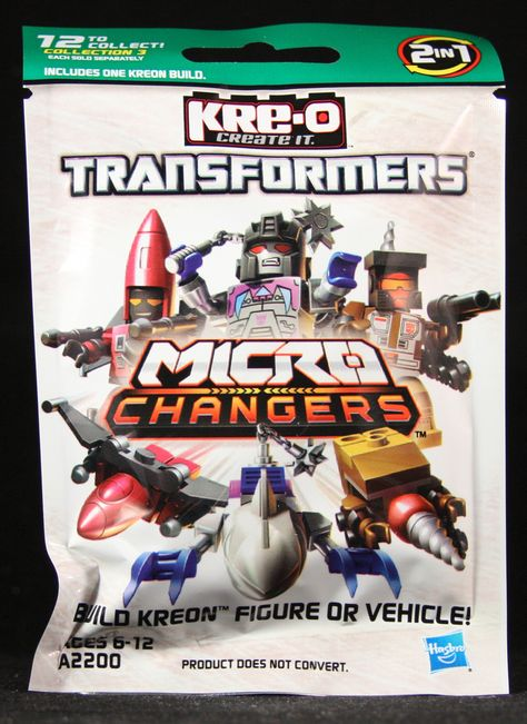 Transformers Kreon Micro Changers Collection 3 Complete Set of 12