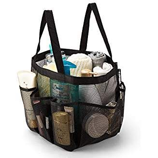 Ipegtop Portable Mesh Shower Caddy Quick Dry Shower Tote Hanging Bath Toiletry Organizer Bag With 9 Stor Shower Caddy Dorm Shower Caddy Shower Caddy College