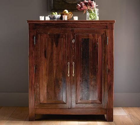 Bowry Bar Cabinet Pottery Barn For Small Wall Outside Of Study In The