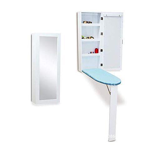 Xiaolin Table Wall Mounted Folding Ironing Board Locker Small