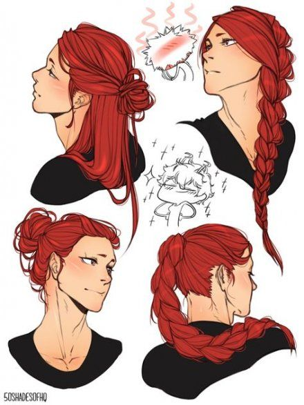How To Draw Waves Hair : waves, Ideas, Hairstyles, Black, Waves, Hair,, Drawings,, Character