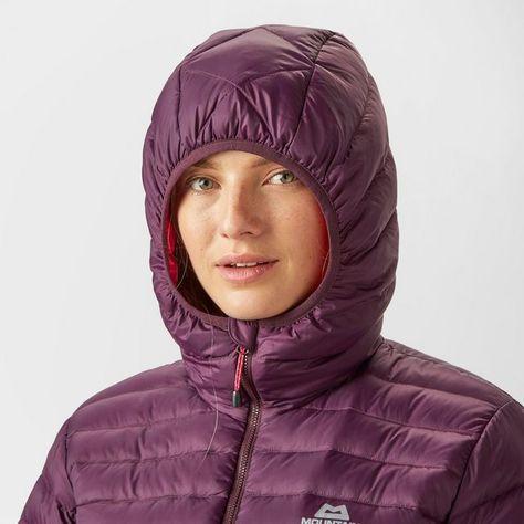 Women's Arete Hooded Down Jacket | Lyžovanie