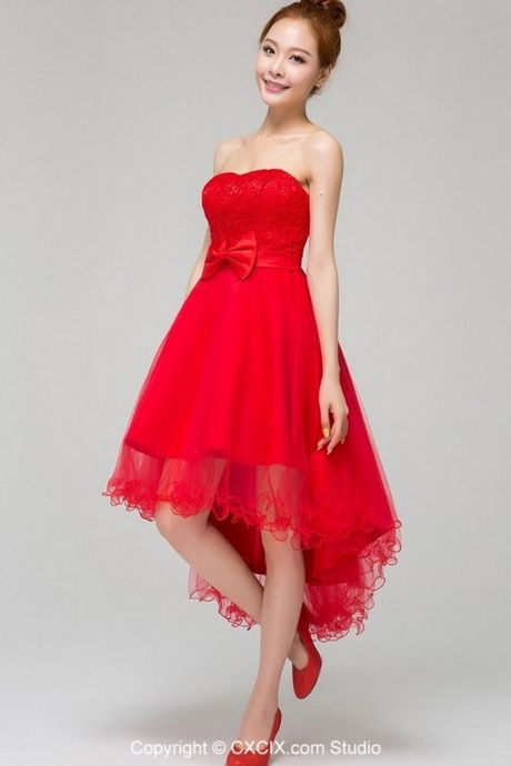 Red Short Wedding Dresses In 2020 Sweetheart Bridesmaids Dresses Red Wedding Dresses Bridesmaid Dresses