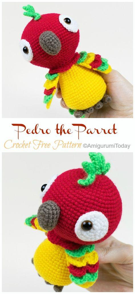 How to crochet parrot amigurumi / ctochet tutorial #2 - YouTube   1031x474