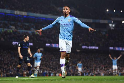 Gabriel Jesus Scores Twice as Manchester City Beat Everton 2-1 in Premier League