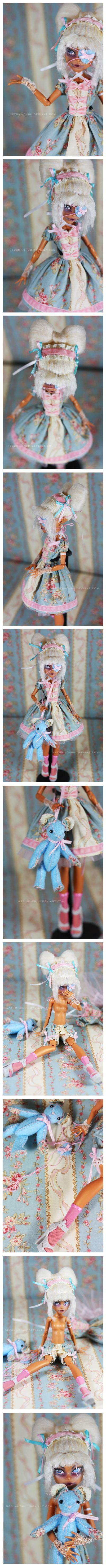 MH : Rorita Nefera Custom by Nezumi-chuu.deviantart.com on @deviantART