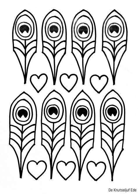 Mandala Kleurplaten Pauw.Pauw Pauw Knip En Kleurplaten Van Jou Kleurplaat Kleurplaten