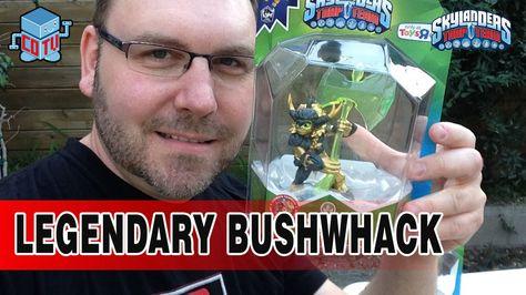 Skylanders LEGENDARY Bushwhack Figure #Skylanders #Toys #collecting