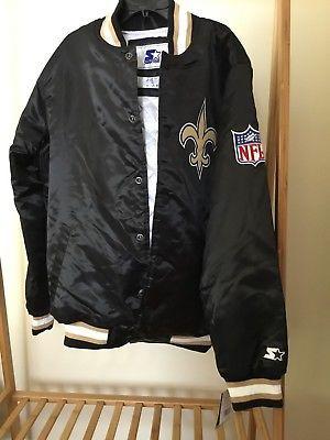 5b7c85ebb New Orleans Saints NFL Starter Jacket x Packer men s black size M (eBay  Link)