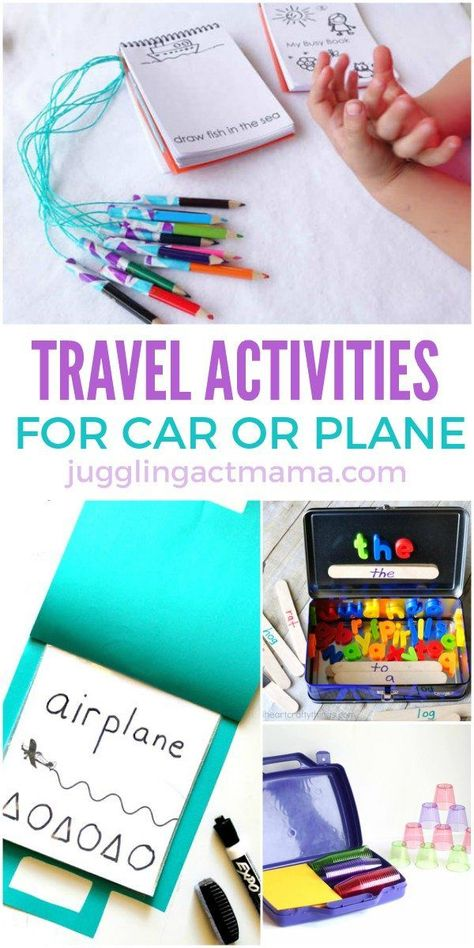 Travel Activities for Kids perfect for Car or Plane