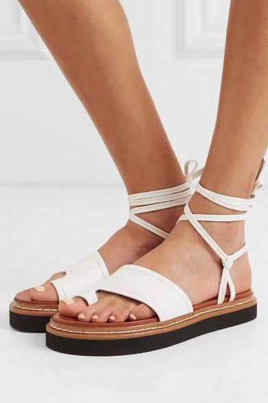 Pyraclou Studded Platform Wedge Sandal