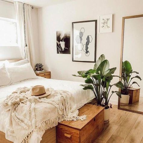 ✔ 52 chic boho bedroom decor ideas that will get you excited about decorating 5 – Home Design Inspirations Bedroom Art, Bedroom Inspo, Modern Bedroom, Master Bedroom, Contemporary Bedroom, Bedroom Inspiration, Fall Bedroom, Ikea Bedroom, Master Suite