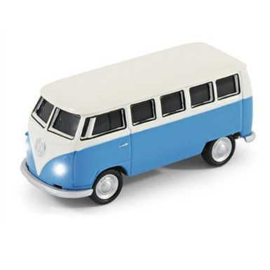 8gb Classic 1962 Vw Camper Van Blue Usb Flash Memory Drive Amazon