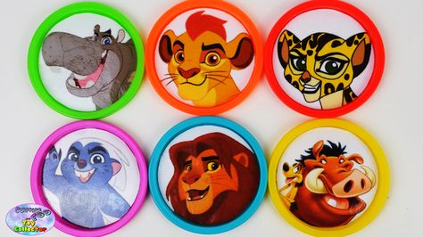 Learn Colors The Lion Guard Disney Junior Jr Disney Car Toys Surprise